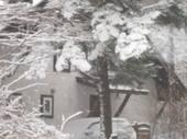 12月の清里の山荘の様子
